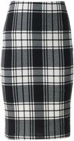 Women's Loramendi Plaid Pencil Skirt