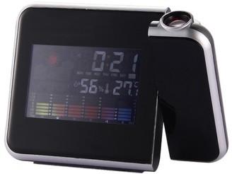 Coutlet Digital Weather LCD Snooze Alarm Clock LED Display Backlight Clocks