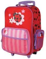 Stephen Joseph Ladybug Rolling Luggage in Red