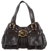 Etro Textured Leather Shoulder Bag