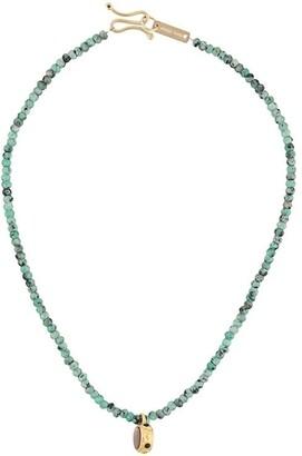 Isabel Marant Beaded Pendant Necklace