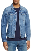 G Star Denim Jacket in Light Aged