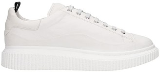 Officine Creative Krace 008 Sneakers In White Leather