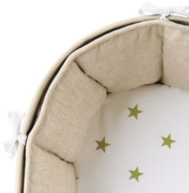 Sausalito Fitted Sheet Sprout Star