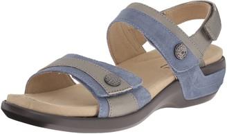 Aravon Women's Katherine-AR Flat Sandal