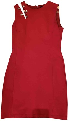 Versus Red Cotton - elasthane Dress for Women