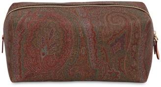 Etro Paisley Print Coated Cotton Makeup Bag