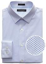 Grant Slim-Fit Non-Iron Print Dress Shirt