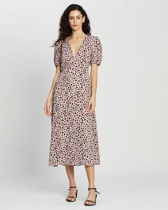 Atmos & Here Cora Midi Dress