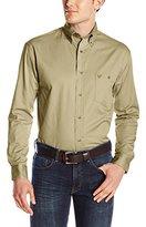 Wrangler Men's Advanced Comfort Sport Long Sleeve Shirt