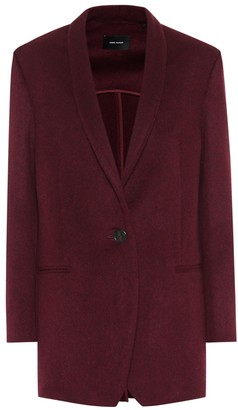 Isabel Marant Felicie wool and cashmere jacket