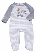 Mud Pie Cow & Rooster Footed Sleepwear