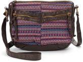 Mudd Taphnee Embroidered Crossbody Bag
