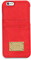 Michael Kors Saffiano Leather Pocket Smartphone Case For Iphone 6