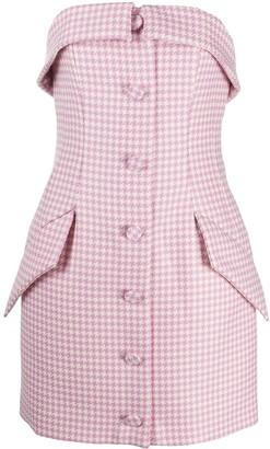 Giuseppe di Morabito Houndstooth Tailored Mini Dress