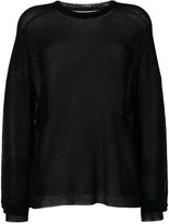 Laneus sheer sweater