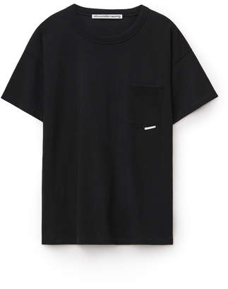Collection high twist pocket tee