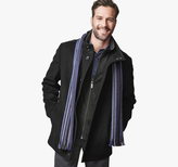 Johnston & Murphy Plush Wool Car Coat