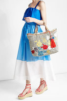 Star Mela Embroidered Tote