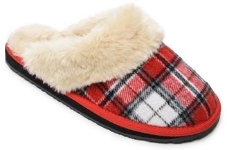 Minnetonka Women's Slip-On Scuff Slippers - Holiday