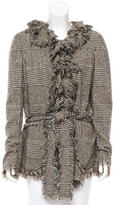 Ungaro Wool Houndstooth Jacket
