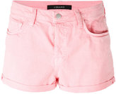 J Brand fitted denim shorts - women - Cotton/Spandex/Elastane - 24