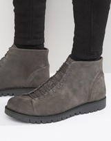 Walk London Bethnal Suede Monkey Boots
