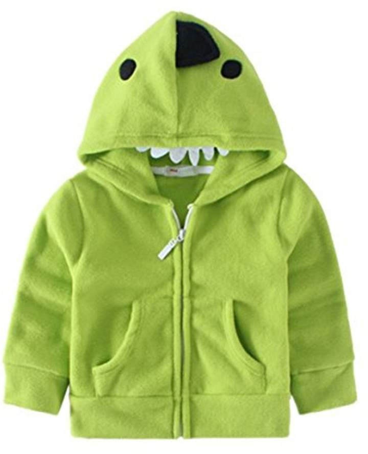 JELEUON Kids Baby Unisex Fleece Animal Cartoon Hoodies Jackets Outwear 6T-7T