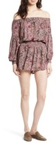 Free People Women's Pretty & Free Off The Shoulder Romper