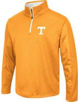 Men's Stadium Tennessee Volunteers College Embossed Sleet Quarter-Zip Pullover