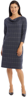 Regatta 3/4 Sleeve Split Neck Dress