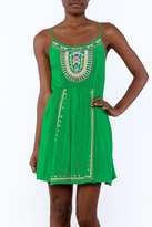 Entro Fresh Green Dress