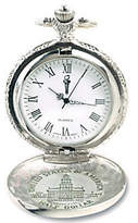 JFK QVC Bicentennial Half-Dollar Pocket Watch