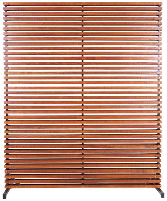 Moe's Home Collection Dallin Screen Brown, Brown