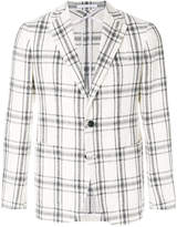 Tagliatore checked pattern jacket