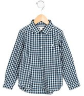 Marie Chantal Boys' Plaid Patterned Flannel Shirt