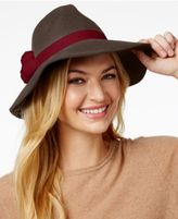 August Hats It Girl 3 Pom Large Fedora