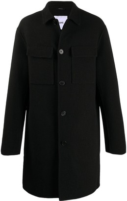 Oamc Single Breasted Coat