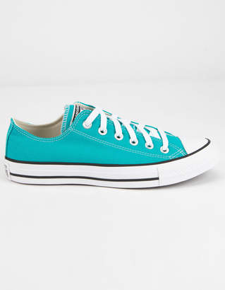 Converse Chuck Taylor All Star Seasonal Color Green Womens Low Top Shoes
