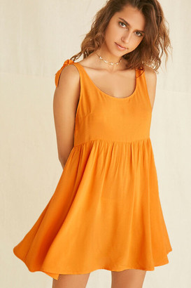 Forever 21 Knotted Fit Flare Dress