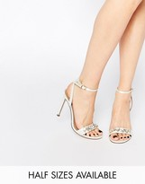 Asos HIGH IN THE SKY Bridal Heeled Sandals