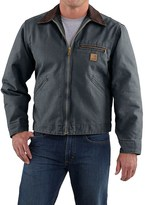 Carhartt Sandstone Detroit Jacket - Blanket Lining (For Big Men)
