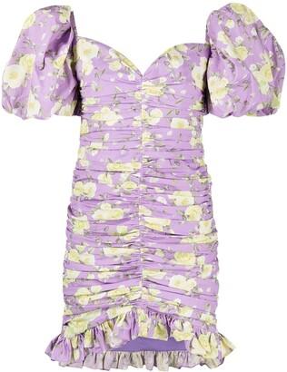 Giuseppe di Morabito Floral Mini Dress