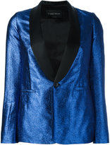 Christian Pellizzari Metallic blazer - women - Polyamide/Polyester/Acetate/Viscose - 38