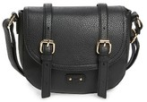 BP Junior Women's Buckle Saddle Crossbody Bag - Black