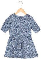 Jacadi Girls' Floral Print Short Sleeve Dress