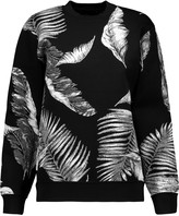 Alexander Wang Hawaiian stretch-jacquard sweatshirt