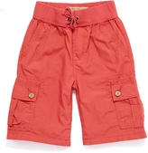 Lucky Brand Washed Red Pull-On Shorts - Boys