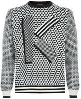 Kenzo Patternedlogo Sweater