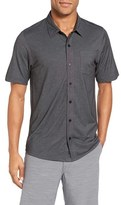 Travis Mathew Men's Hines Slim Fit Wrinkle Resistant Sport Shirt